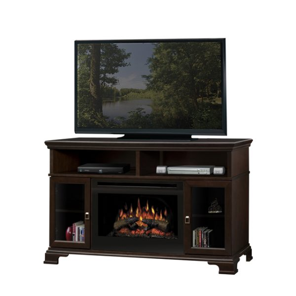 Dimplex Brookings Electric Fireplace Media Console