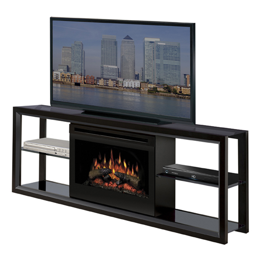 dimplex novara electric fireplave and tv stand