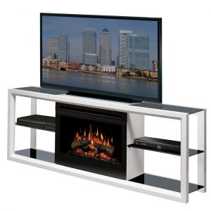 Dimplex Novara Electric Fireplace and Media Console-0