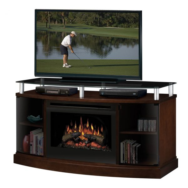 Windham Electric Fireplace media console