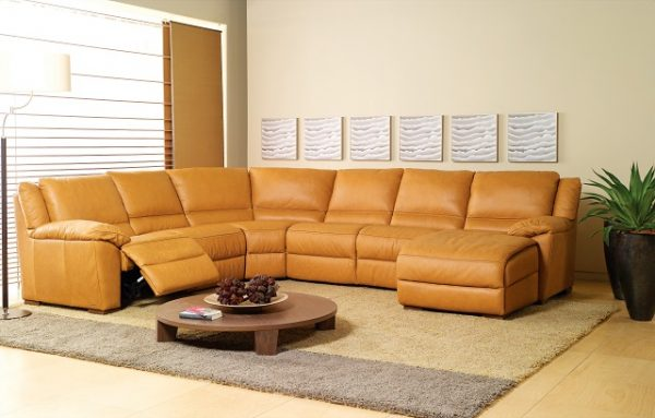 Natuzzi Editions Recliner Sectional A319