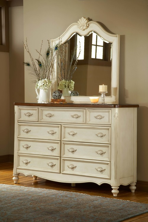 American Woodcrafters Chateau Bedroom Collection