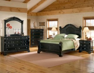 American Woodcrafters Heirloom Bedroom Collection