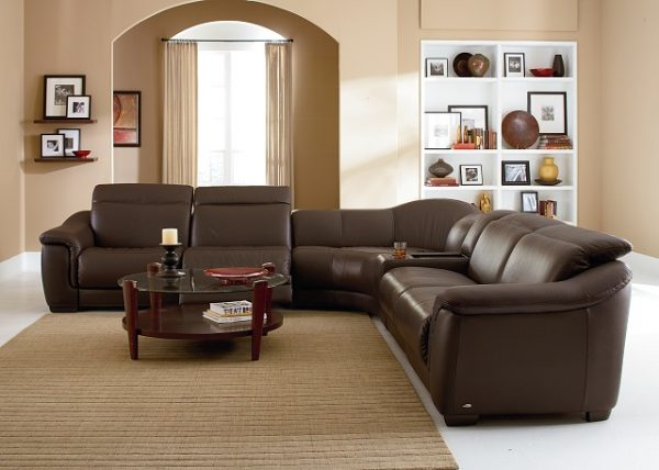 Natuzzi Editions Recliner Sectional B641