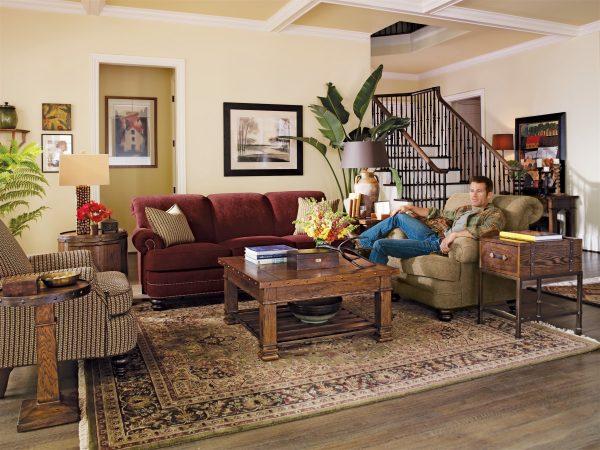 Flexsteel Bay Bridge Living Room Collection-4871