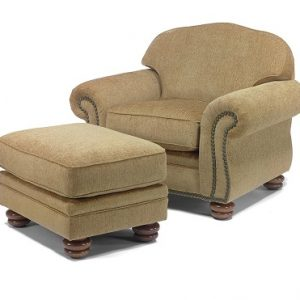 Flexsteel Bexley Chair and Ottoman -0