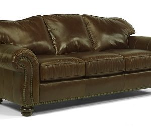 Flexsteel Bexley Leather Living Room Collection -0