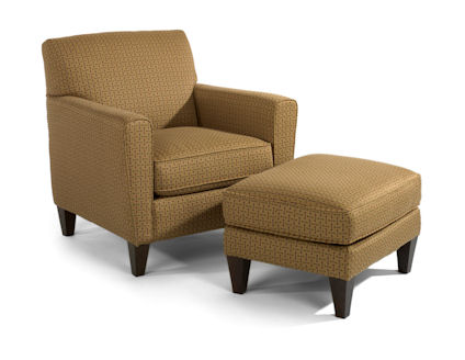 Flexsteel Digby Chair and Ottoman-65