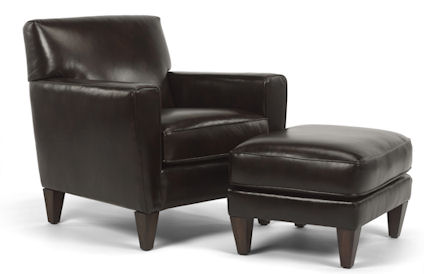 Flexsteel Digby Chair and Ottoman-51