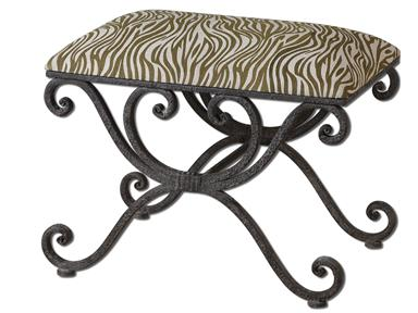 Uttermost Aleara Small Bench 23089-0