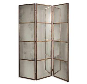 Uttermost Mirror Avidan 3 Panel Screen-0