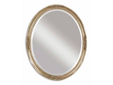 Uttermost Mirror Newport Oval Silver-0