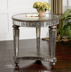 Uttermost Sinley Accent Table Item 24235-0