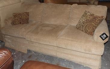 Klaussner Beige Sofa