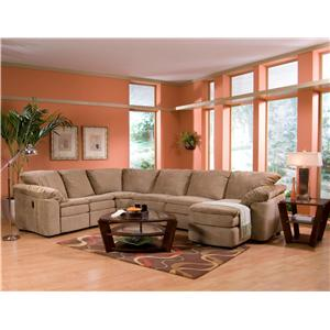 Klaussner Legacy Sectional-879