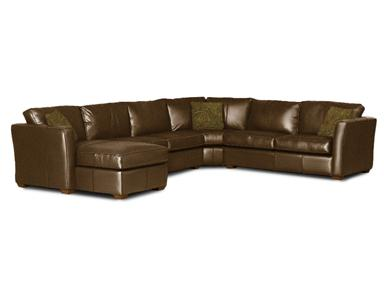 Klaussner Options Leather Sectional -1118