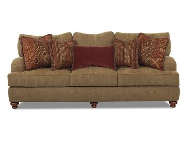 Klaussner Living Room Walker Sofa K64930F S