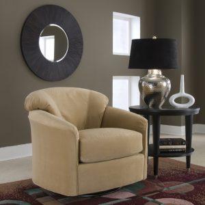Klaussner Swivel Chair-0