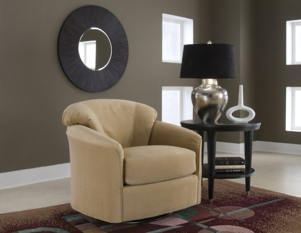 Klaussner Swivel Chair-0
