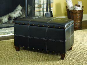 Hammary Furniture Hidden Treasures Accents Black Trunk 090-290
