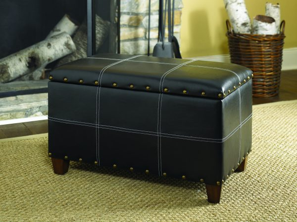 Hammary Furniture Hidden Treasures Accents Black Trunk 090-290