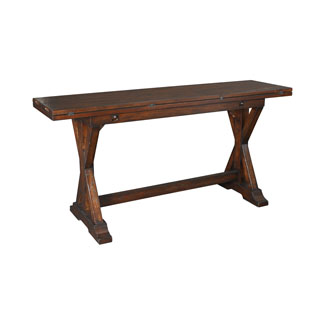 Hammary Furniture Hidden Treasures Accents Flip-Top Console Table 090-276