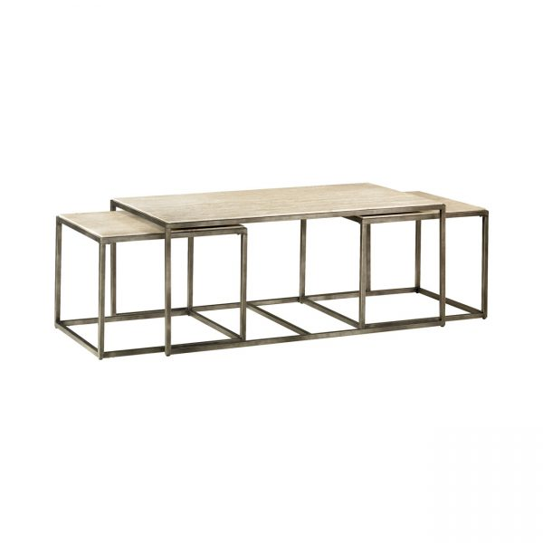 Hammary Furniture Modern Basics Collection Rectangularl Nesting Cocktail Tables
