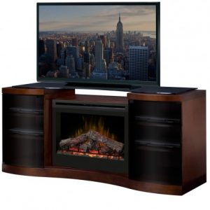 Dimplext Acton Media Console Electric Fireplace