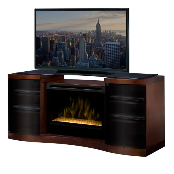 Dimplex Acton Media Console Electric Fireplace-2071