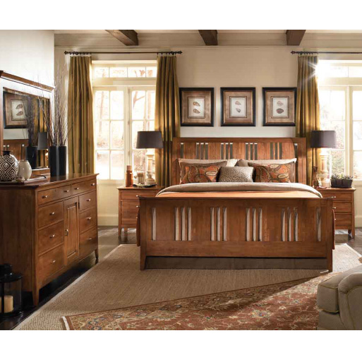 Kincaid Furniture Cherry Park Bedroom Collection-7850