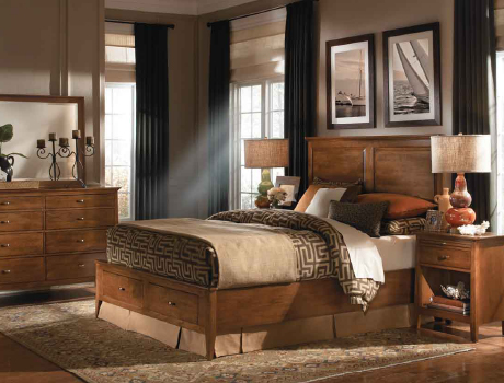 Kincaid Furniture Cherry Park Bedroom Collection