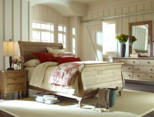 Kincaid Furniture Homecoming Vintage Pine Bedroom Collection