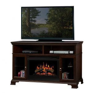 Dimplex Brookings Media Console Electric Fireplace-0