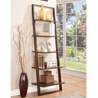 Riverside Furniture Lean Living Desk and Bookcases