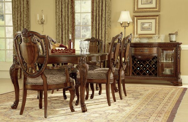 A.R.T. Furniture Old World Dining Room Collection-8458