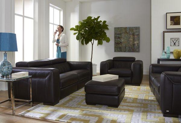 Natuzzi Editions Recliner Sofa B790