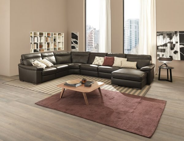Natuzzi Editions Sectional B814