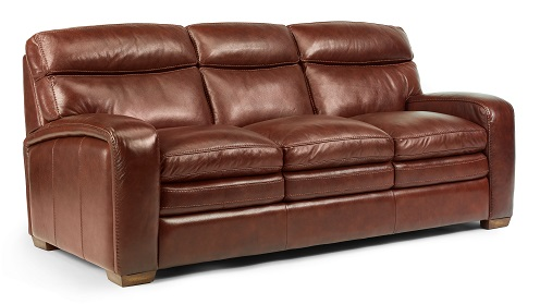 Flexsteel Bixby Leather Reclining Living Room Collection-4974