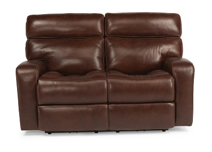 Flexsteel Bixby Leather Reclining Living Room Collection-4972