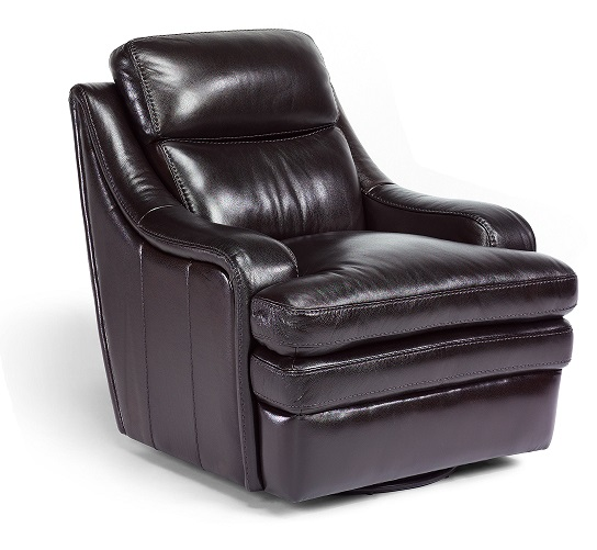 Flexsteel Bixby Leather Reclining Living Room Collection-4976