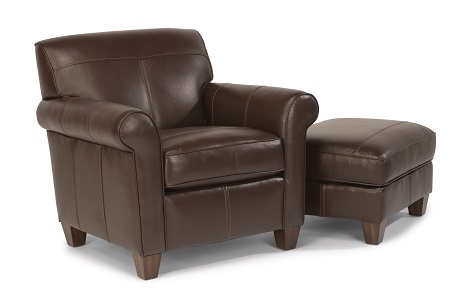 Flexsteel Dana Leather Living Room Collection-5028