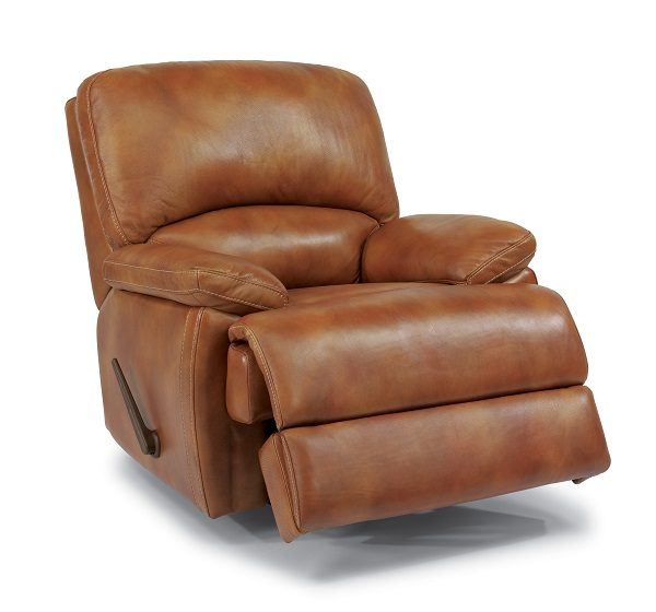 Flexsteel Dylan Leather Reclining Living Room Collection-5053