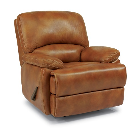 Flexsteel Dylan Leather Reclining Living Room Collection-5052