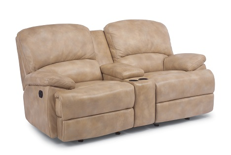 Flexsteel Dylan Leather Reclining Living Room Collection-5062