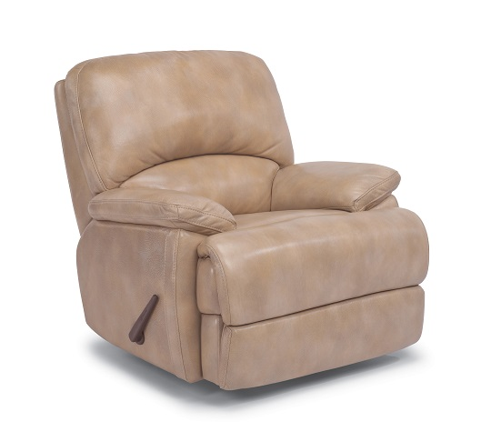 Flexsteel Dylan Leather Reclining Living Room Collection-5068