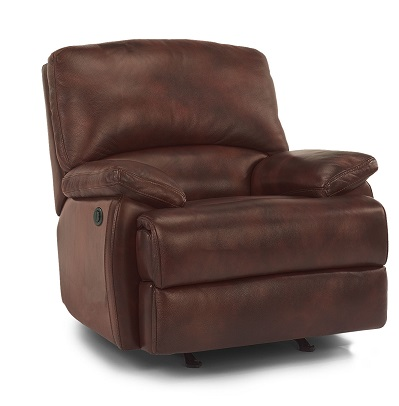 Flexsteel Dylan Leather Reclining Living Room Collection-5065