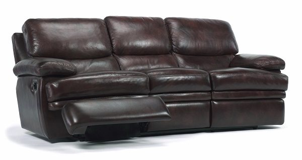 Flexsteel Dylan Leather Reclining Living Room Collection-5054