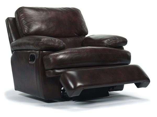 Flexsteel Dylan Leather Reclining Living Room Collection-5059