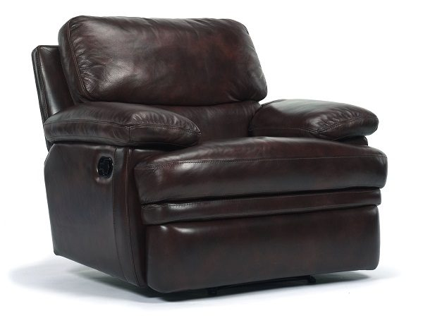 Flexsteel Dylan Leather Reclining Living Room Collection-5051