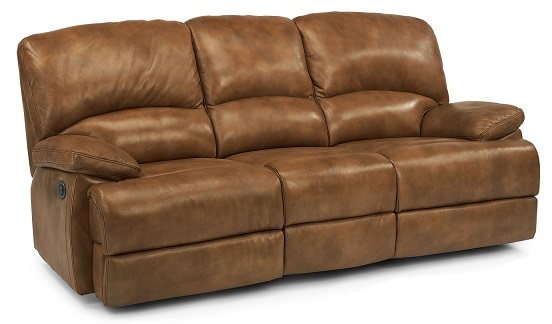 Flexsteel Dylan Leather Reclining Living Room Collection-5056